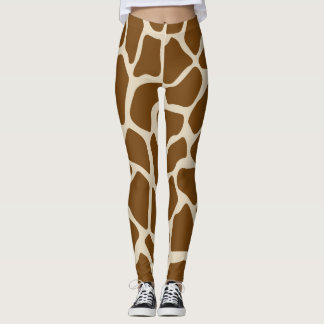 Wild Giraffe Pattern Leggings