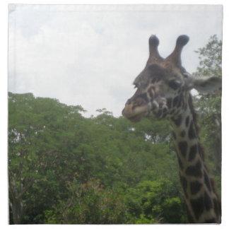 Wild Giraffe Products Cloth Napkins
