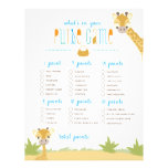 Wild Giraffe What's in Your Purse? Game 21.5 Cm X 28 Cm Flyer
