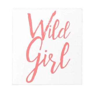 Wild Girl Feminist Notepad