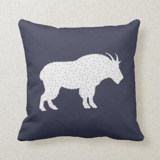 Wild Goat Throw Pillow