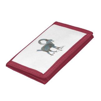 Wild Goat Tri-fold Wallet