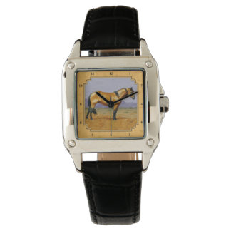 Wild Golden Buckskin Horse Yellow Watch