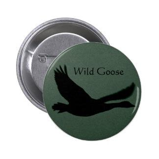 Wild Goose Button Badge