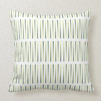 Wild Grasses Matching Pillows Olive Khaki Tribal