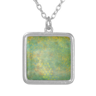 Wild Green Spots Grungy Cool Necklace