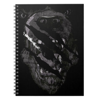 Wild Grizzly Bear Animal Spiral Note Books