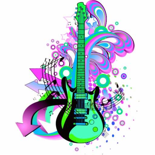 Wild Guitar Acrylic Cut Out
