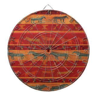 Wild Gypsy Mustangs Dartboard