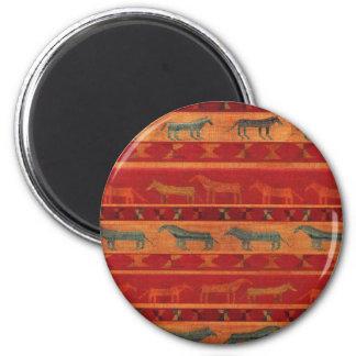 Wild Gypsy Mustangs Magnet