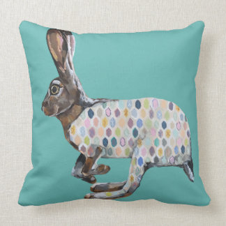 Wild Hare Pillow