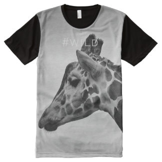 #wild hashtag tshirt All-Over print T-Shirt