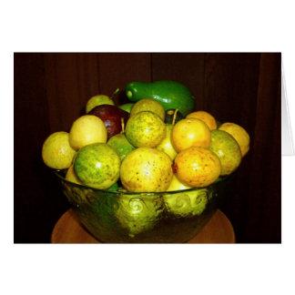 WIld Hawaiian Avocados, Guavas and Lilikoi Card