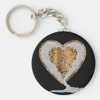 Wild Heart Keychain