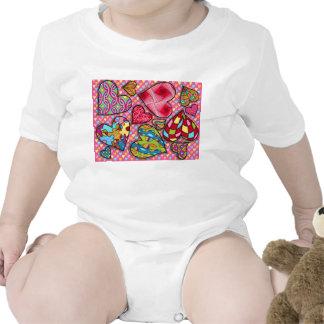 Wild Hearts Infant Creeper