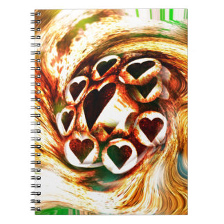 Wild Hearts Notebook