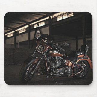 Wild Hog Motorcycle Mouse Pad