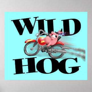 Wild HOG! Poster