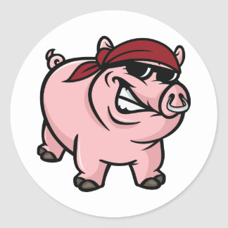 Wild Hog Stickers