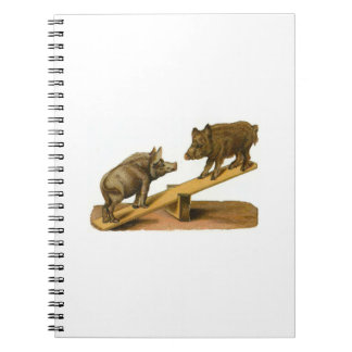 Wild Hogs See-Saw Notebook