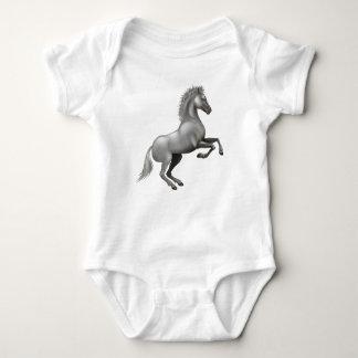 Wild horse baby bodysuit