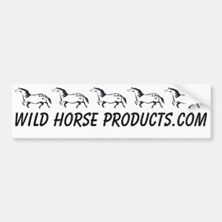 Wild Horse Bumper Sticker