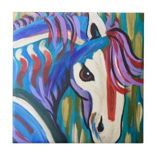 Wild Horse Ceramic Tile