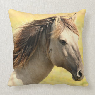 Wild Horse Decorative Accent Throw Pillow