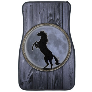 Wild Horse Moon Car Mat