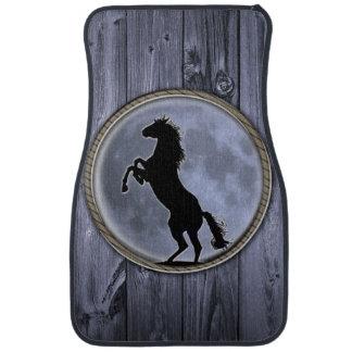 Wild Horse Moon Floor Mat