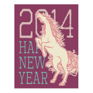 Wild Horse (New Year Card)(Japan Post for) Postcard