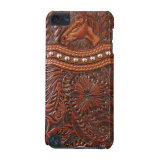 """Wild Horse"" Western Tooled Leather IPod Touch Cas iPod Touch 5G Covers"