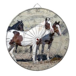 WILD HORSES DARTBOARD