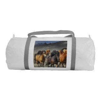 Wild Horses Gym Bag