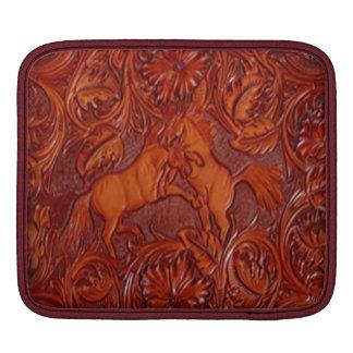 wild horses iPad sleeve