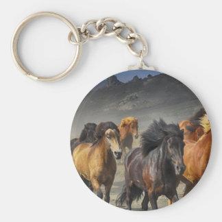 Wild Horses Key Ring