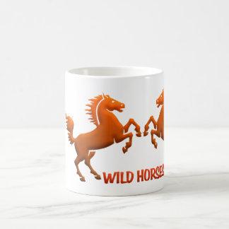 Wild Horses mug - choose style & color