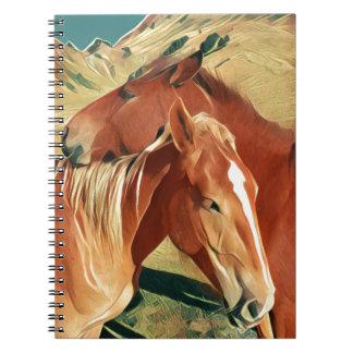 Wild Horses Note Book