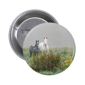 Wild Horses of Missouri 6 Cm Round Badge