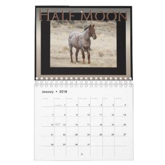 Wild Horses of Sand Wash Basin,  Colorado Wall Calendar