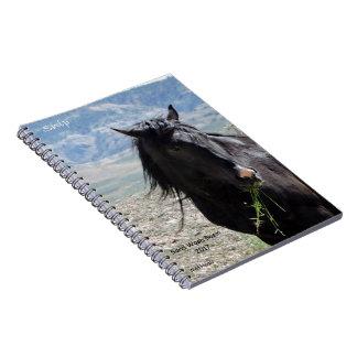 Wild Horses of Sand Wash Basin Notebook