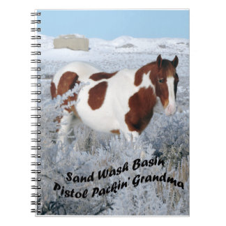 Wild Horses of Sand Wash Basin Notebook