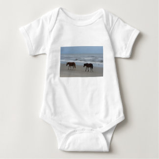 Wild Horses Outer Banks Baby Bodysuit