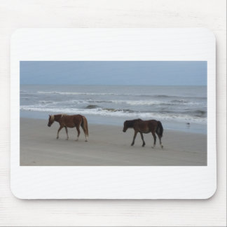 Wild Horses Outer Banks Mouse Pad
