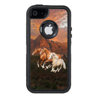 Wild horses phone case