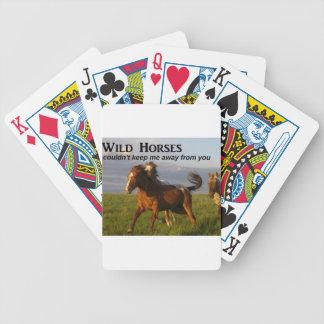 Wild Horses Poker Deck