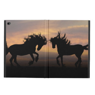 Wild Horses Silhouette