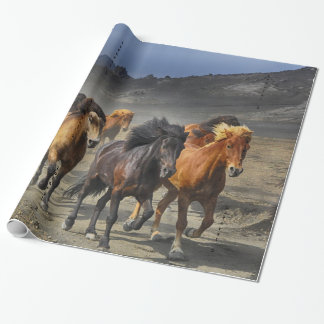 Wild Horses Wrapping Paper
