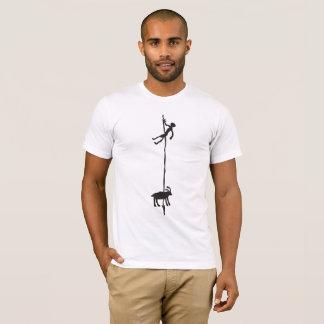 wild hunting petroglyph T-Shirt