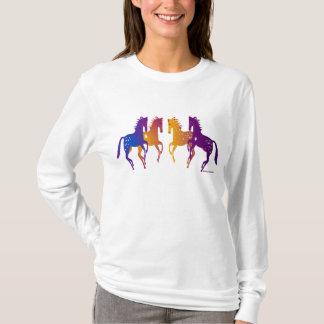 Wild Indian Ponies Ladies AA Hoody Long Sleeve